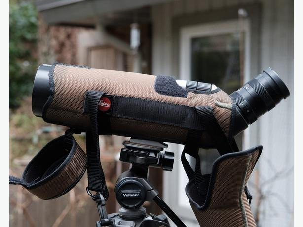 Leica Televid 62 spotting scope with zoom lense