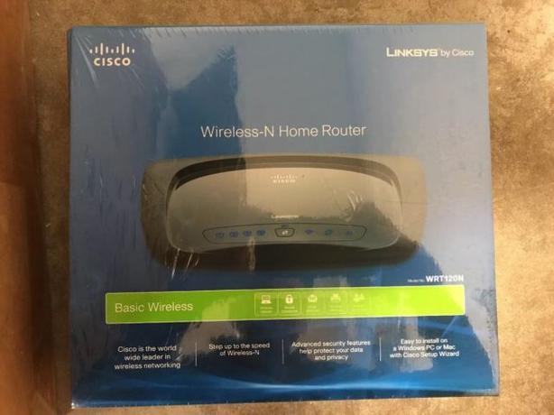 Linksys WRT120N - Still in Box Wireless Router