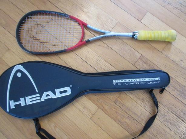 Head Pro Graphite Titanium Squash Racquet
