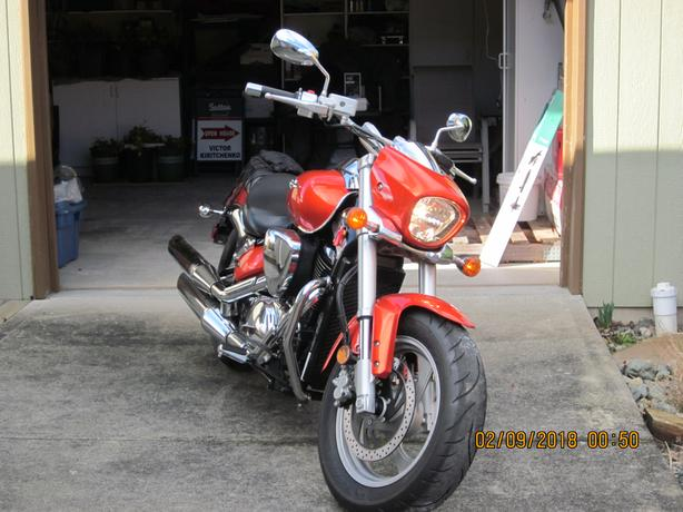 Rare M 50 Suzuki Beoulvard