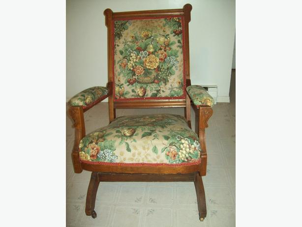 1875 LAKEWOOD PLATFORM ROCKING CHAIR