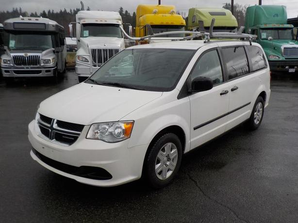 2011 Dodge Grand Caravan Cargo Van with Shelving & Ladder Rack