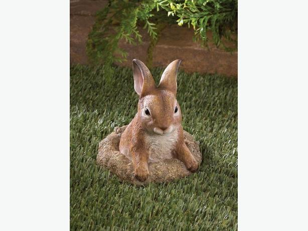 Cute Bunny Rabbit Statue Figurine Yard Decor 5 Lot 4+Choice Brand New