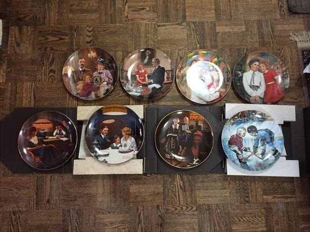 Assorted collector plates
