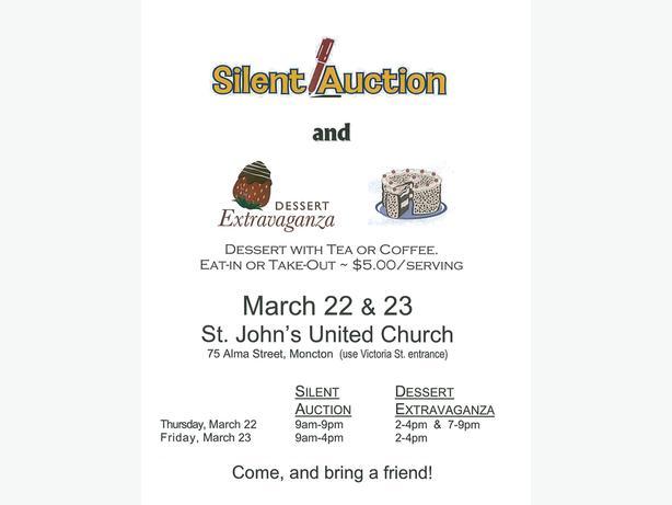 Silent Auction & Dessert Extravaganza