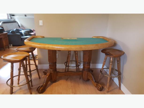 Black Jack/Poker Table