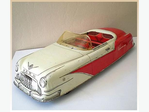 Marx tin lithographed convertible