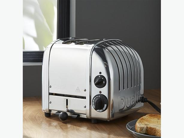 DUALIT 2 SLOT NEWGEN TOASTER CHROME