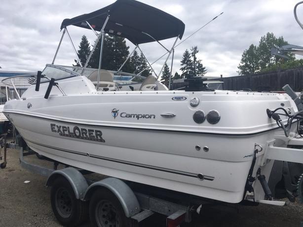 2012 Campion 602 Explorer ($45000)