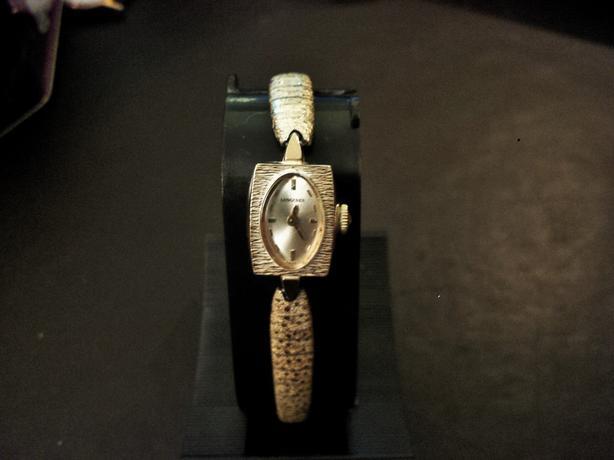 Vintage Women's Longines 10k Gold Filled Hand Wind Watch