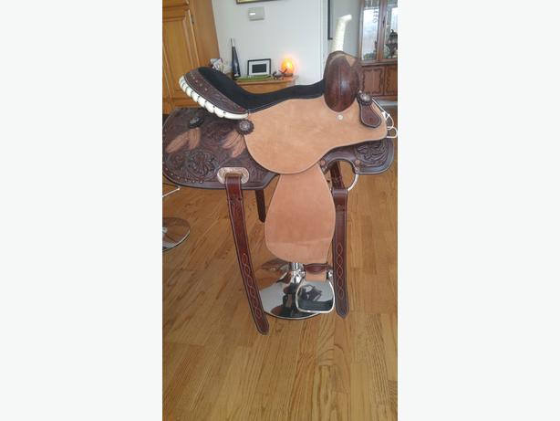 New Barrel Saddle