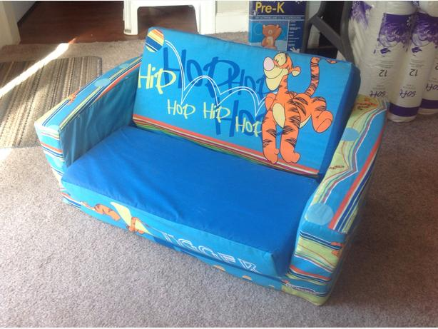 Tigger chair convertible to bed