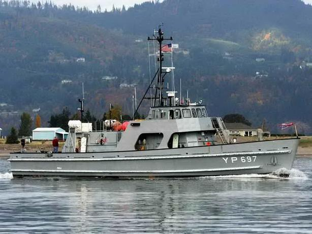 Ex-Navy YP Training & Research Vessel For Sale - Dauntless