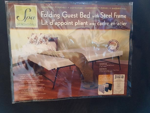 2 Folding Guest Beds With Steel Frame Saanich Victoria