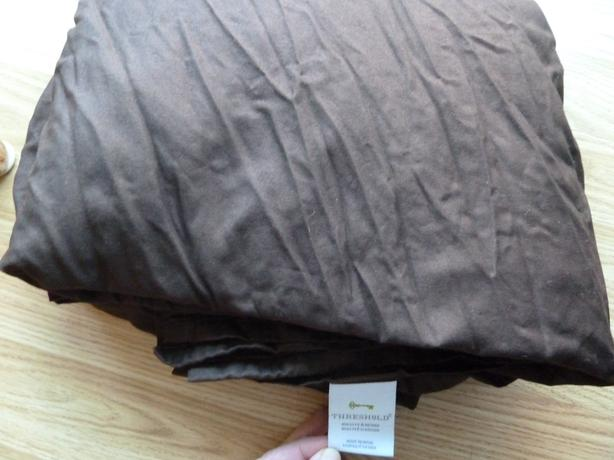 flat bed sheet  double (full) size - Brown - New