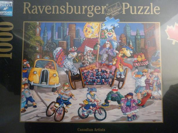 Ravensburger Jigsaw puzzle.