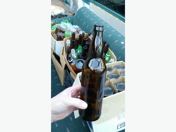 Clean beer or cider bottles you brew!