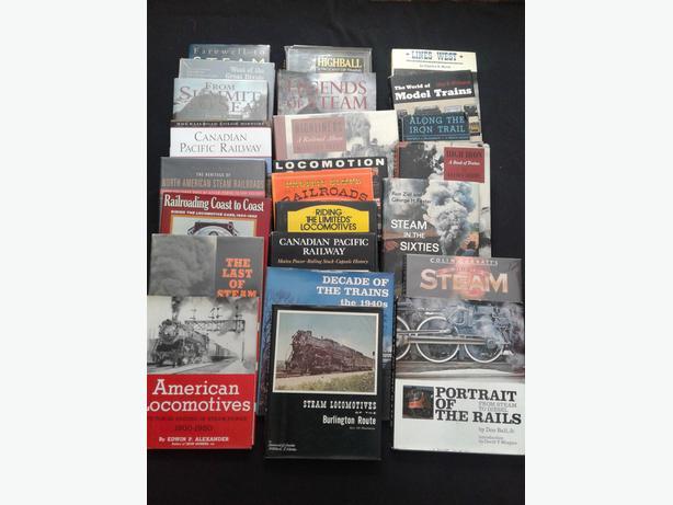 Hardcover Railroad books