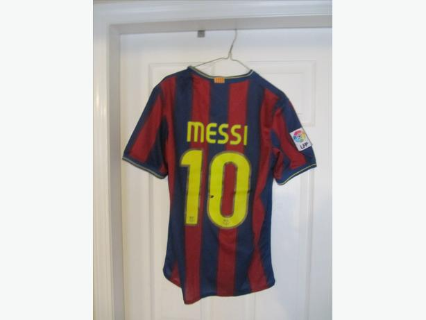 quality design c7e9c a3686  Log In needed $25 · Lionel Messi Barcelona FCB Jersey. With shoulder  patch. Adult S
