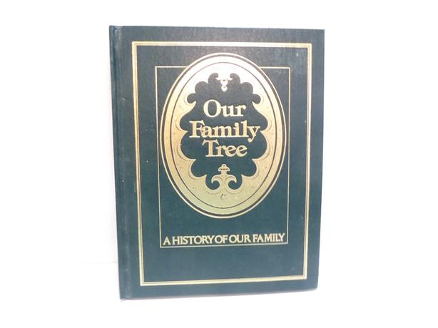 """OUR FAMILY TREE"" GENEOLOGY BOOK TO RECORD YOUR FAMILY LINEAGE"