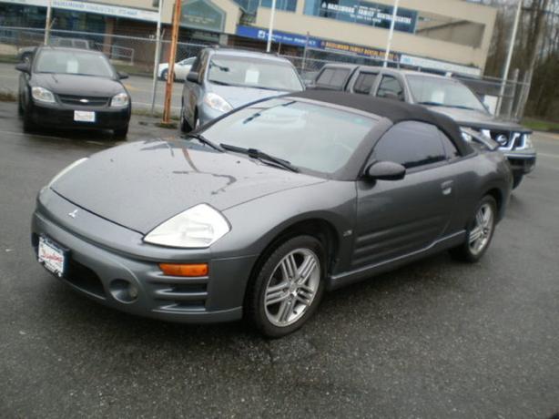 2004 Mitsubishi Eclipse Spyder, 2 year power train warranty