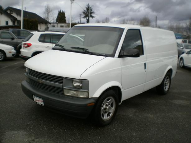 2005 Chevrolet Astro Cargo, 2 year power train warranty,