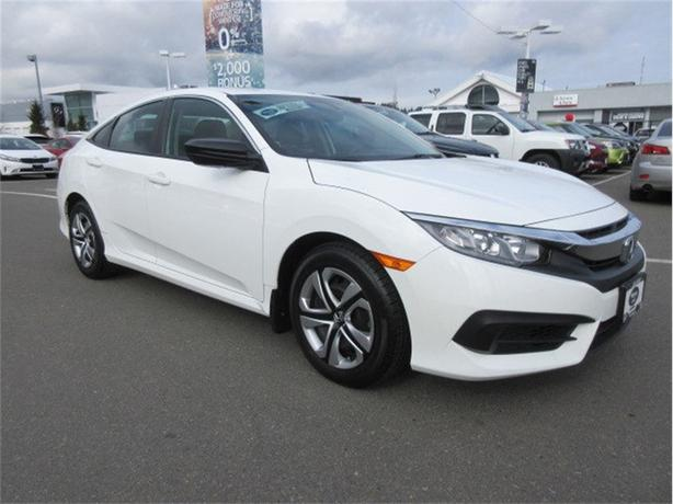 2016 Honda Civic DX Low Kilometers Great Options