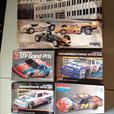 5 Model Race Car Kits (7 Different Cars)