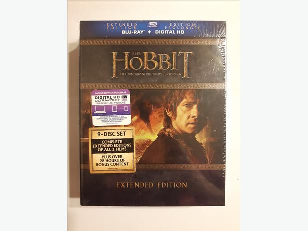 The Hobbit: Extended Trilogy (Blu-ray + Digital HD) - Brand New