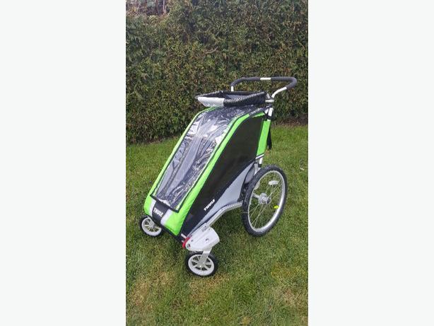Thule chariot single Stroller/ jogger/bike trailer
