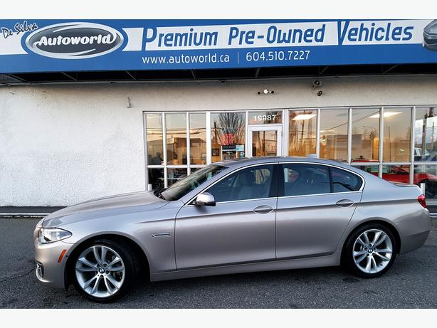 2014 BMW 535D xDrive w/Premium & Tech Package