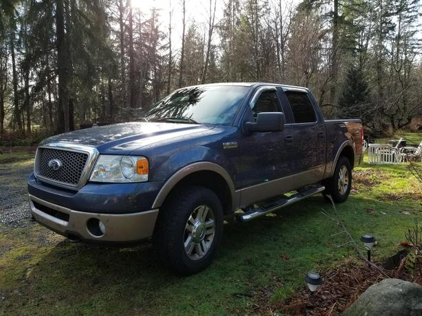 Very Nice Full Load Leater 2006 Lariat F-150 4x4 Quad cab