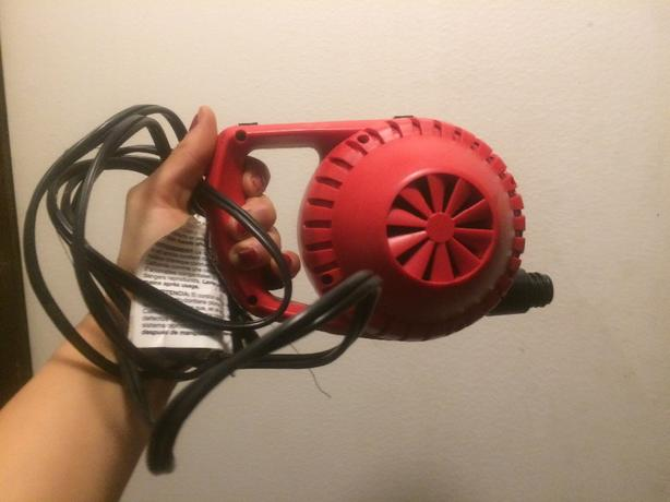 new coleman air pump!