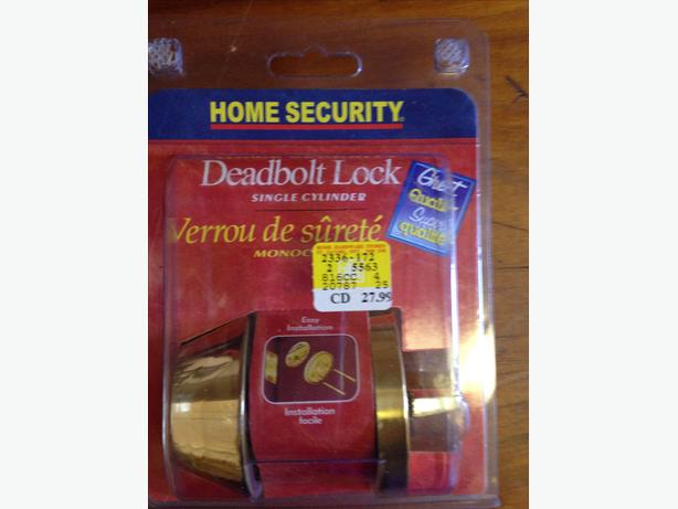 NEW 2 Deadbolt Locks - $15 each