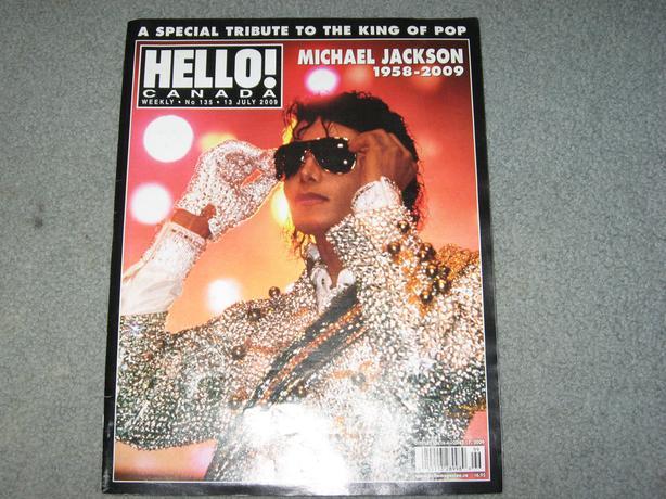 Michael Jackson ,Hello Magazine  tribute 2009