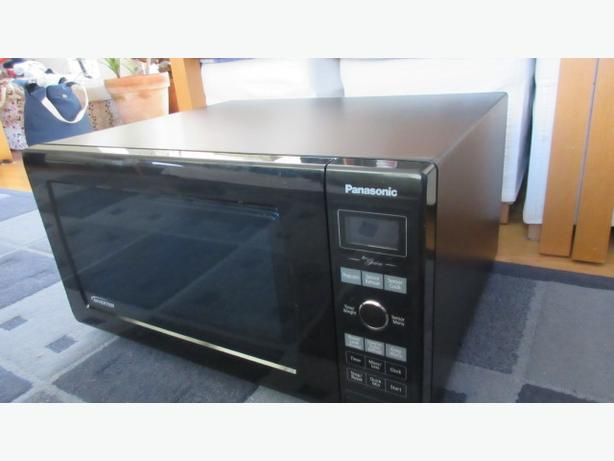 Panasonic full size full featured inverter microwave