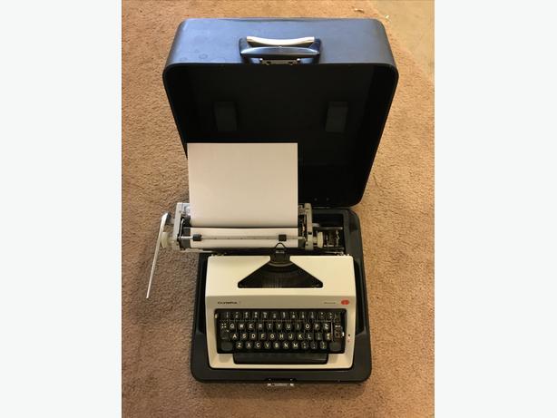 Vintage Modern Portable Typewriter