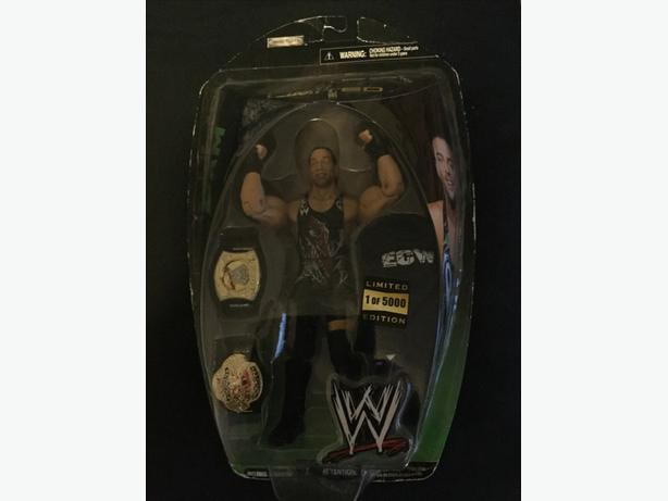 Wwe wwf wrestling figure rvd limited edition