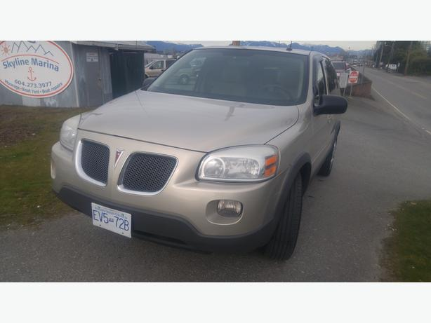 2008 Pontiac Montana SV6 Extended Sports Van -with 6 Month Warranty
