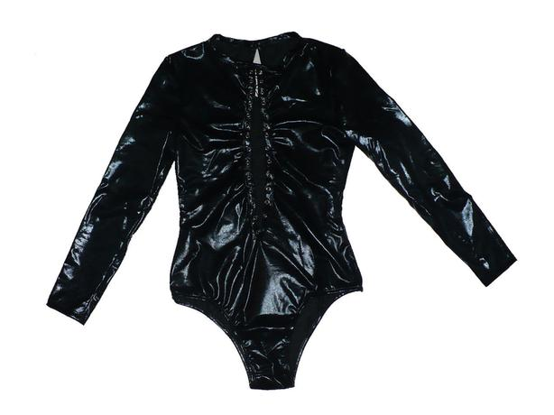 new Lace-up Wetlook Teddy M