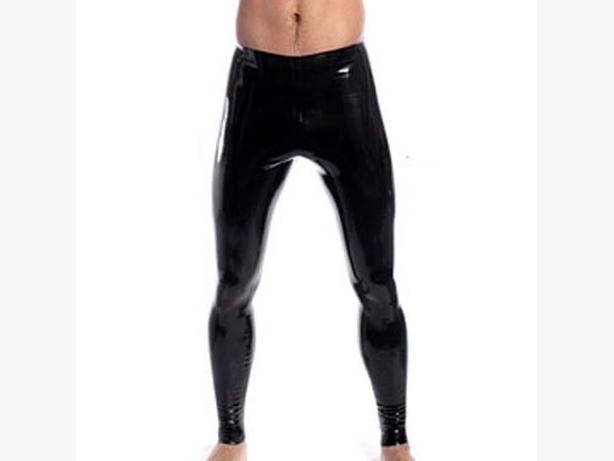 NIP Men Wetlook Leggings black S