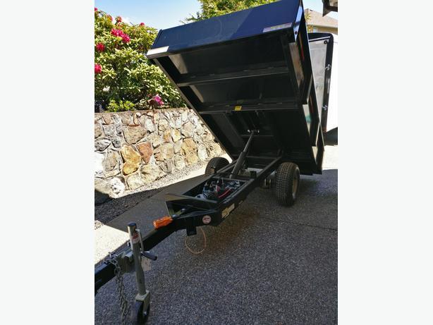 **SALE**NEW 2018 Sure-Trac 4.5'x8' DUMP TRAILER 3000lb SAVE over  $600