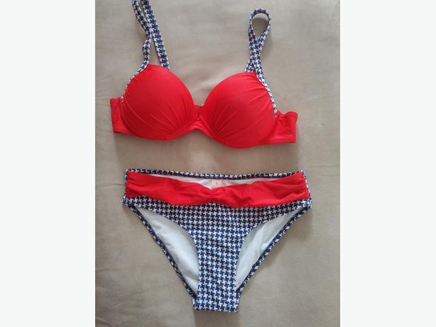 2-pc Pushup Bikini Swimsuit L