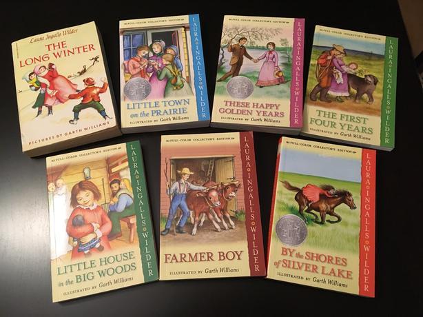Little House on the Prairie Books