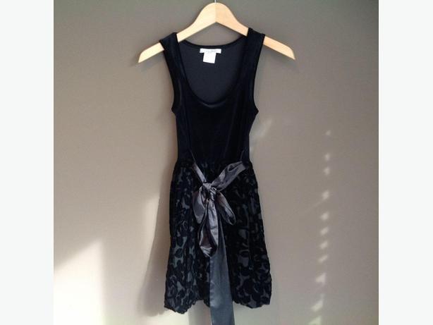 Costa Blanca Black Dress - Size XS