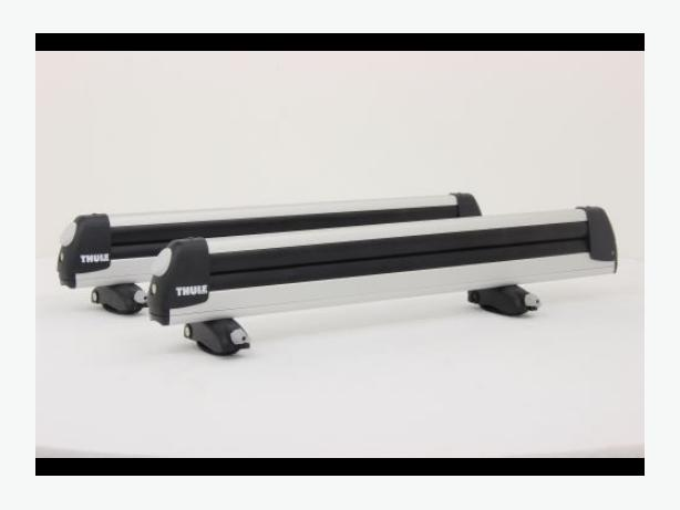 Thule 30 inch locking ski snowboard carrier