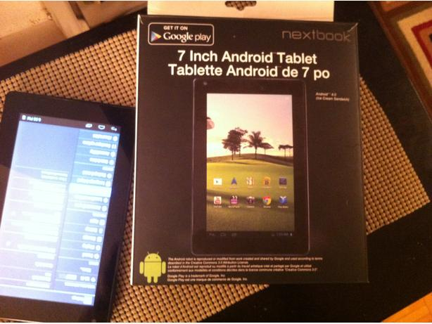 Tablet NextBook HDMI ..Wi-Fi , 4 GB