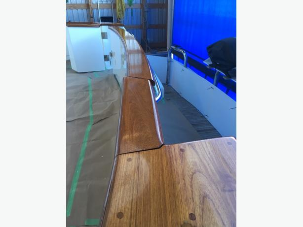 marine wood refinishing