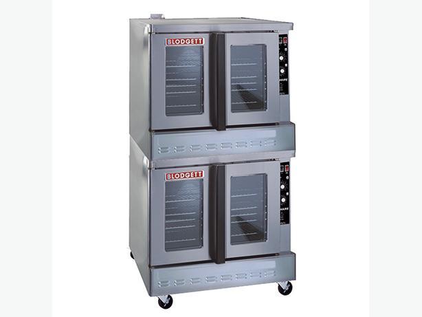 New Blodgett Zephaire-100-G Double Deck Convection Oven