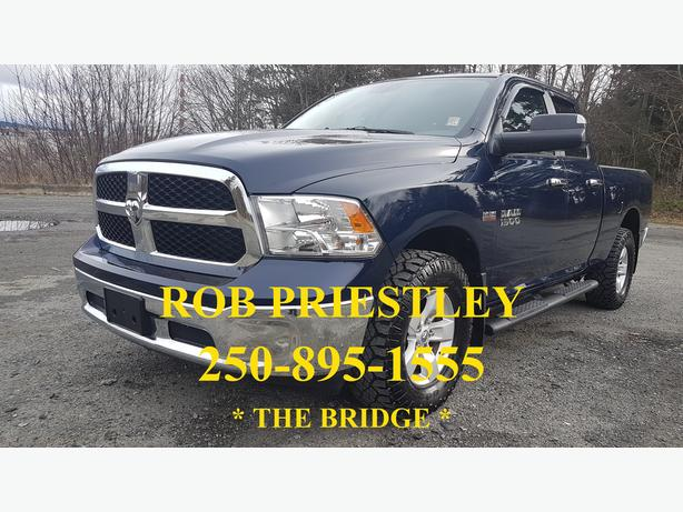 2015 RAM 1500 QUAD CAB SLT 4X4 * THE BRIDGE *